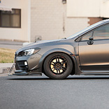 ML24 and Can-Jam Motorsports 2015 Subaru WRX STI Wide Body Fender Flares