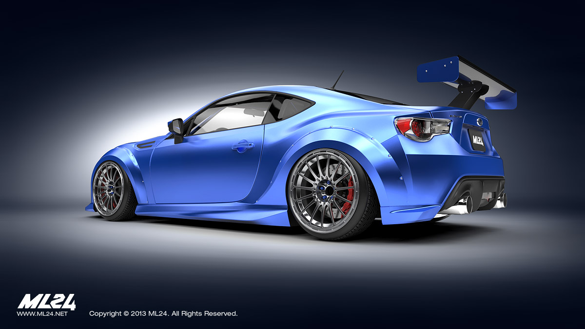 ML24 Subaru BRZ Wide Body Kit