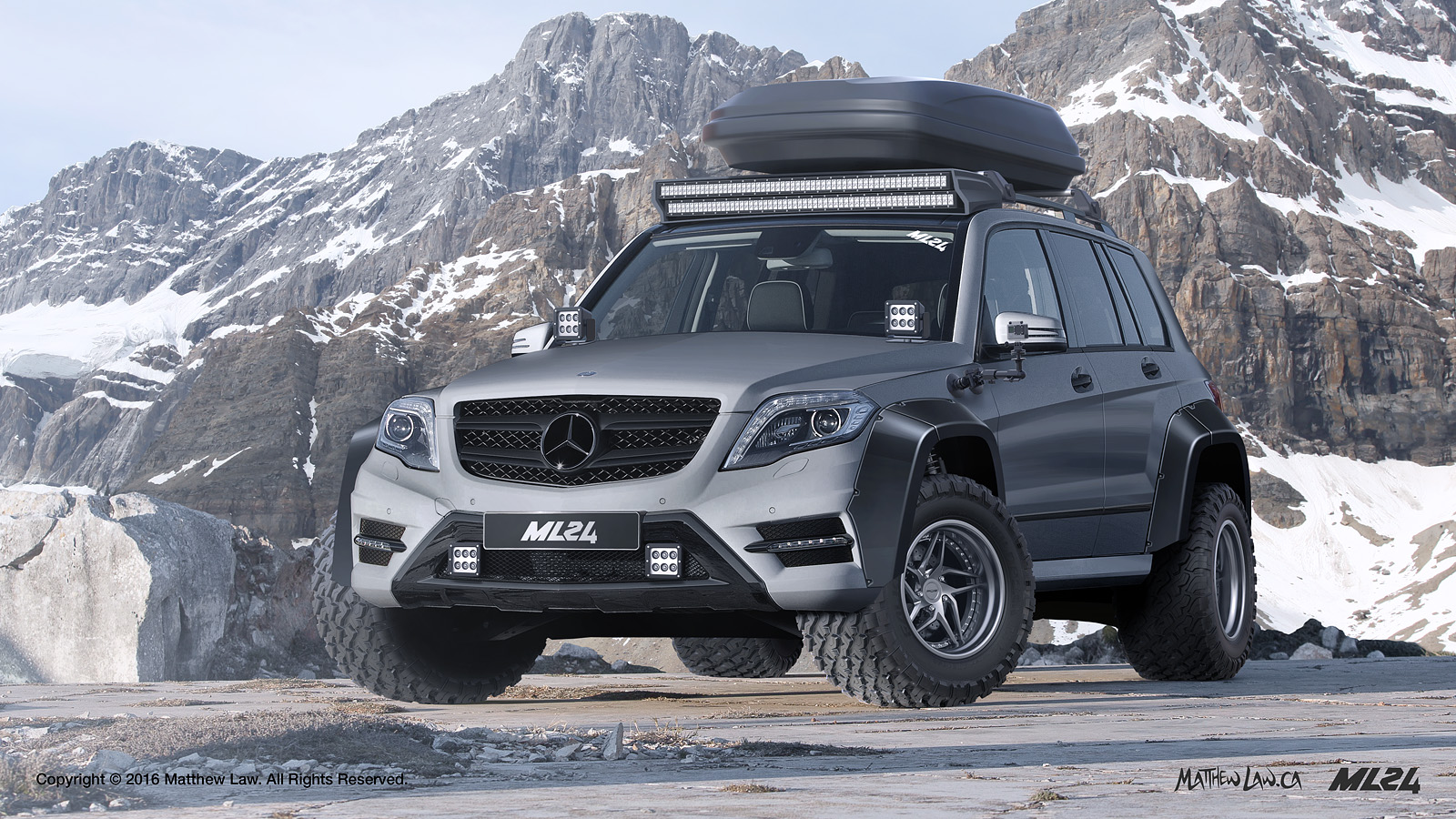 ml24 automotive design prototyping and body kits 2012 2015 mercedes benz glk x204 wide body kit. Black Bedroom Furniture Sets. Home Design Ideas