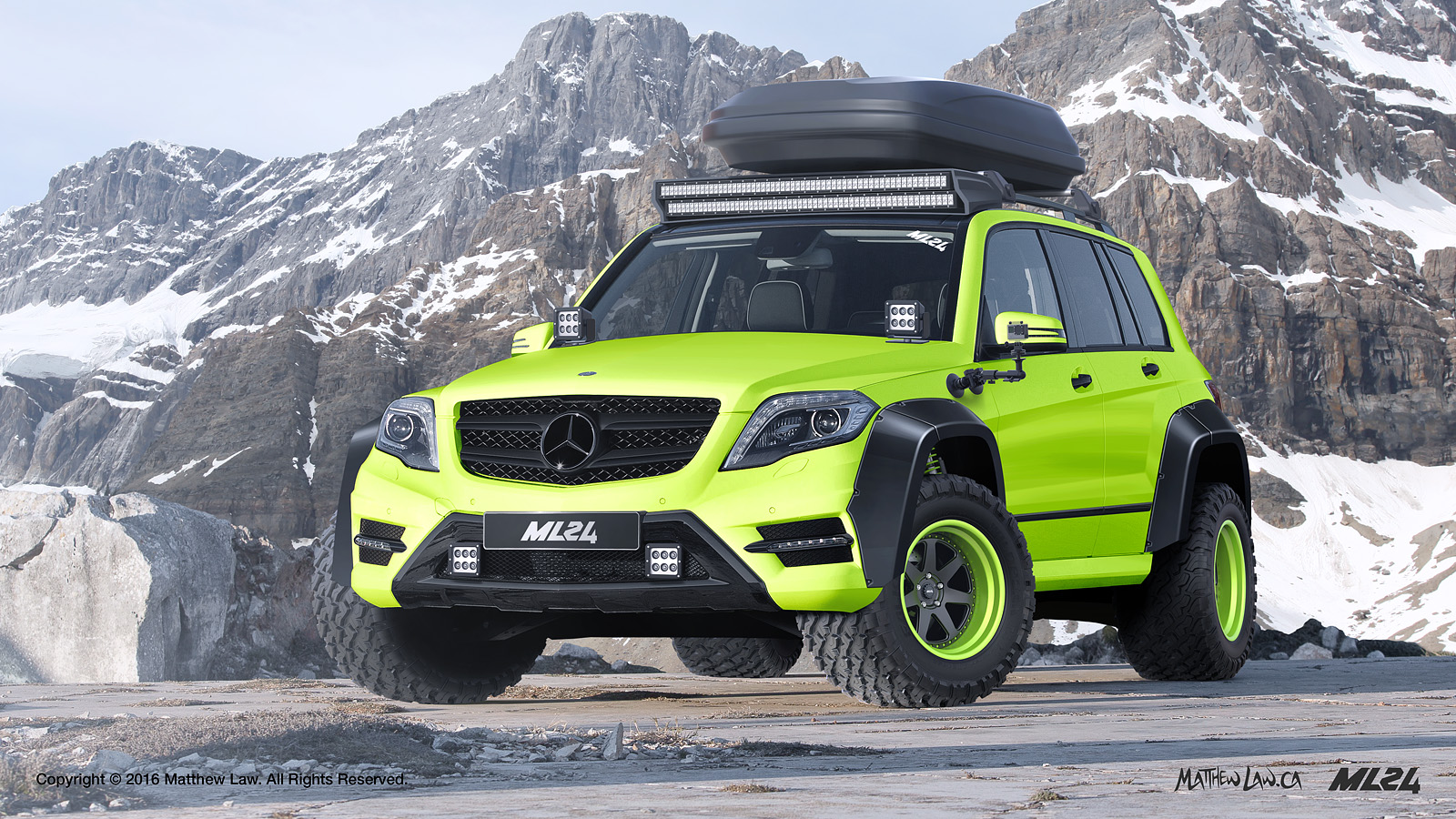 Ml24 automotive design prototyping and body kits 2012 for Mercedes benz glk amg