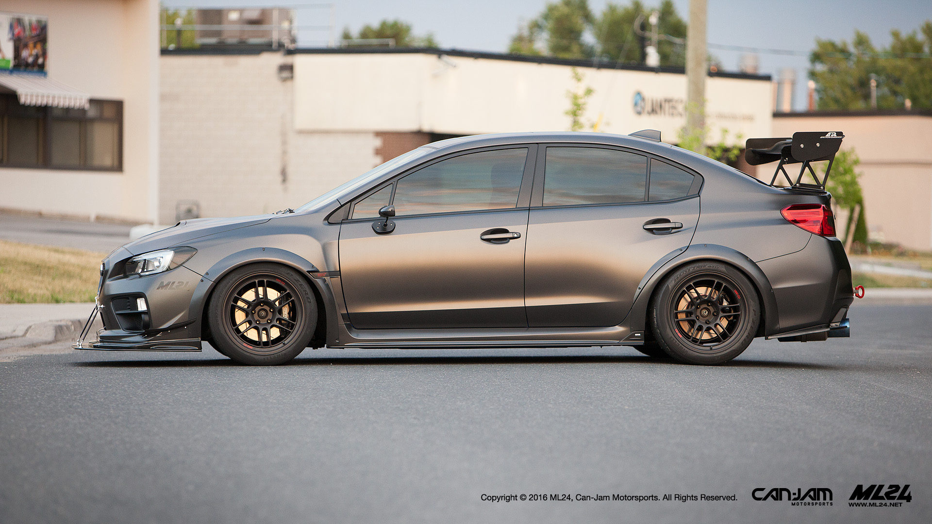 Ml24 Can Jam 2017 Subaru Wrx Sti Wide Body Fender Flares