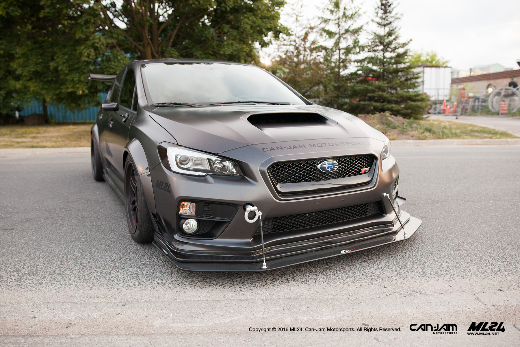 ML24 x Can-Jam Motorsports | 2015 Subaru WRX STI Wide Body Fender