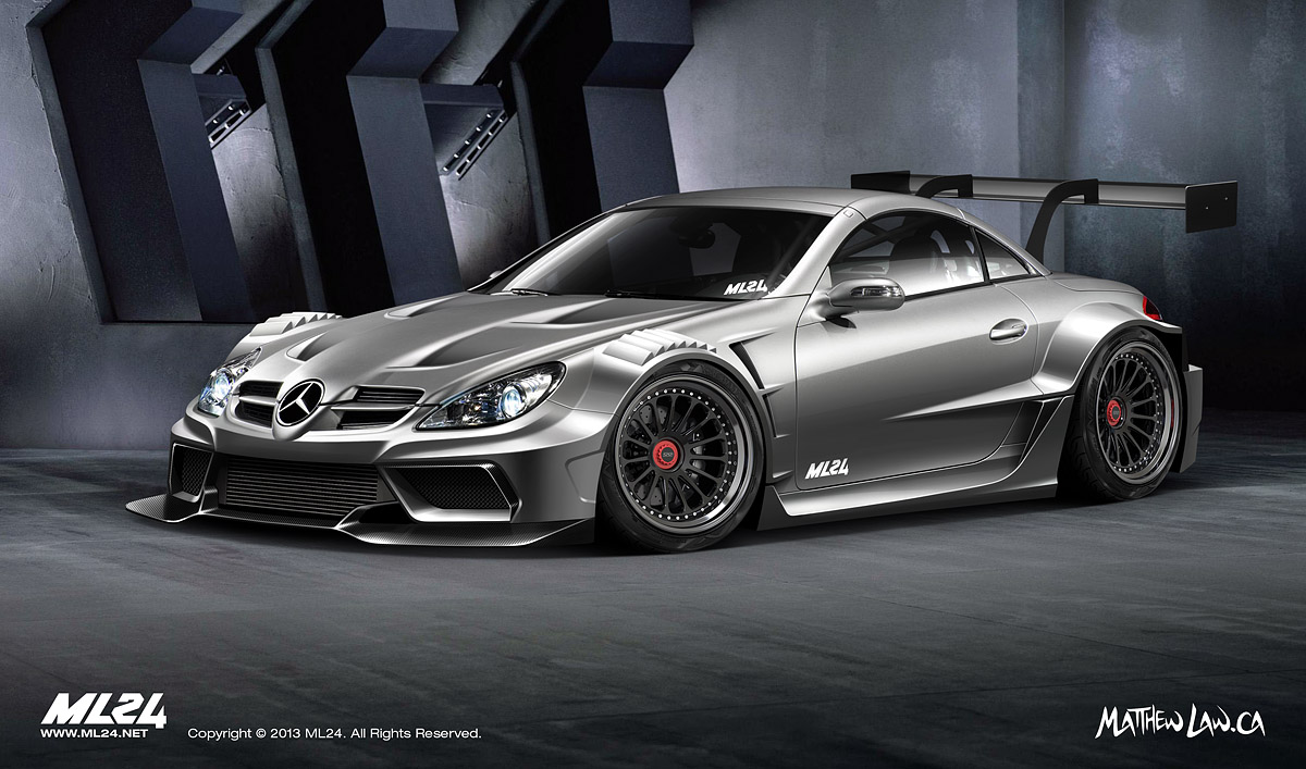 Mercedes benz slk wide body kit concept mercedes benz forum for Mercedes benz forum