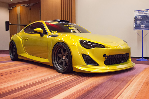 ML24 Scion FR-S Wide Body Aero Kit