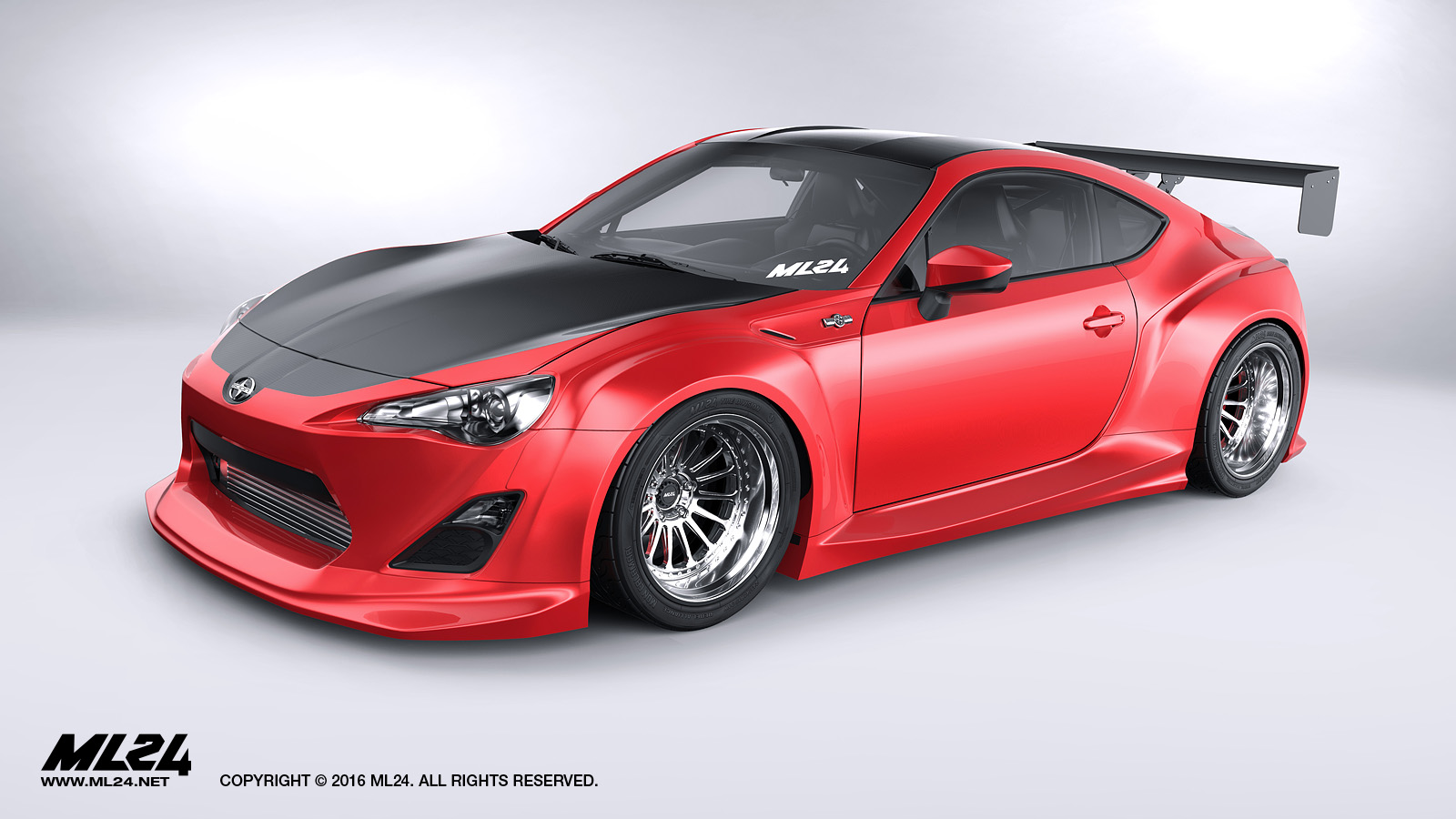 Ml24 Scion Fr S Toyota Gt86 Version 2 Wide Body Kit