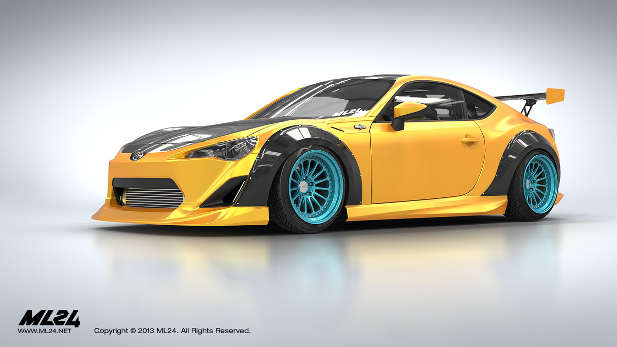 new varis body kit for brz bodykit. Black Bedroom Furniture Sets. Home Design Ideas